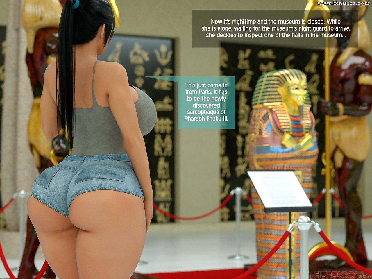 THE FOXXX - Horny Mummy in the Museum