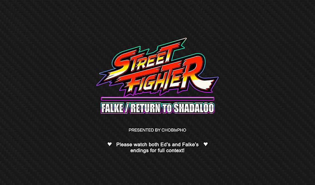 STREET FIGHTER / FALKE - RETURN TO SHADALOO