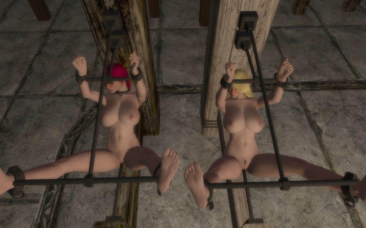 Skyrim bondage furniture collection - part 12