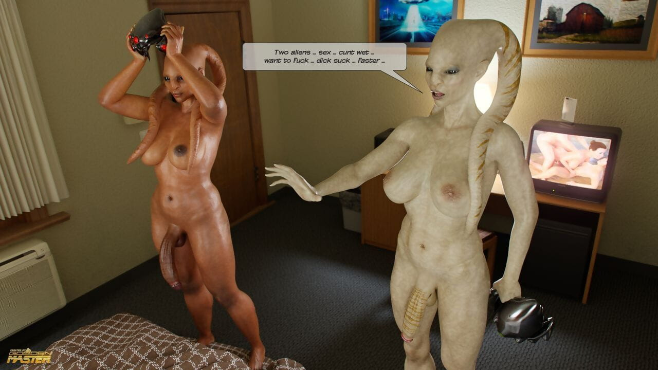Goldenmaster First Contact 2 - Aliens Motel - part 3
