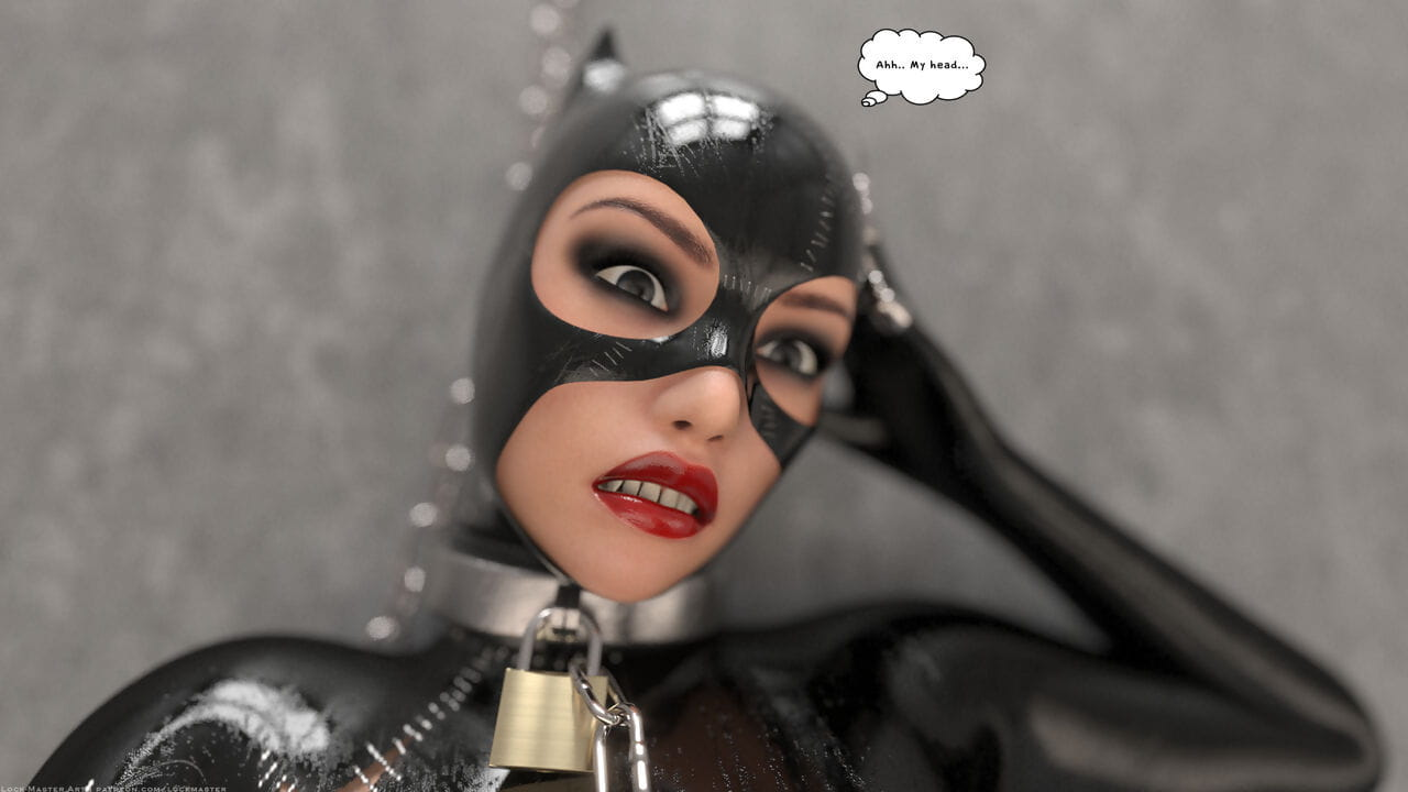 Lock-Master-Catwoman Captured 1 - part 2