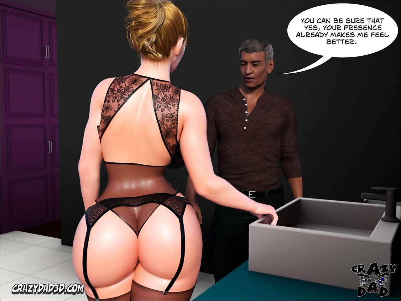 CrazyDad3d Father-in-Law at Home 1 - part 2