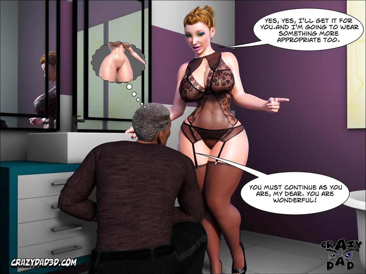 CrazyDad3d Father-in-Law at Home 1 - part 3