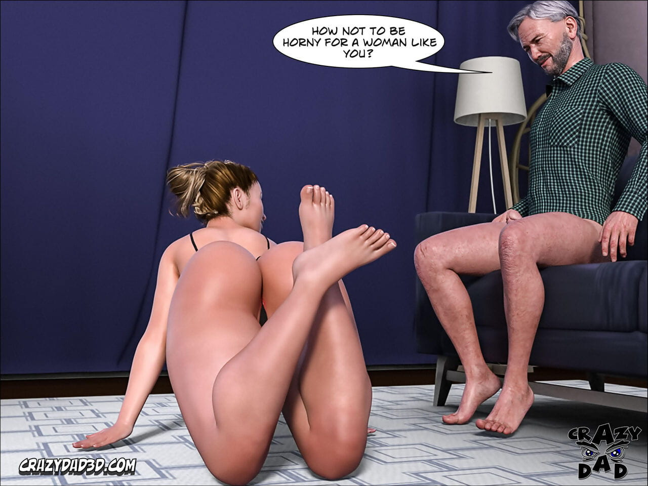 Crazy Dad 3D Father-in-Law at Home 9 English - part 3