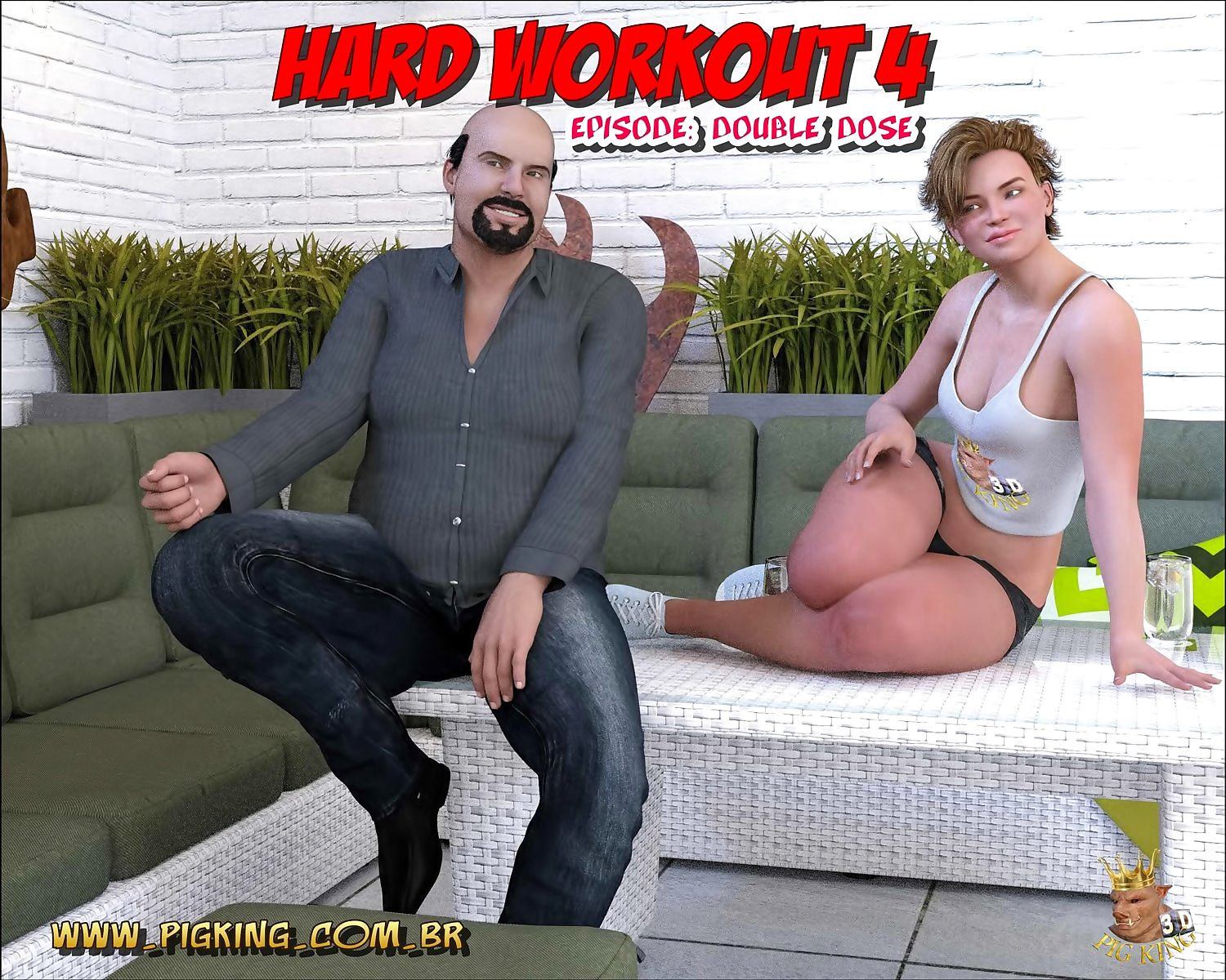 Pig King- Hard Workout 4 Double Dose