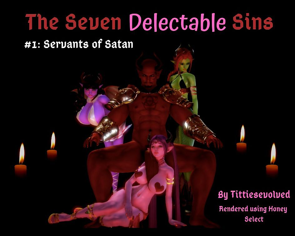 Tittiesevolved- The Seven Delectable Sins – Insatiable Appetites