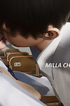 Taju Milla on the street 10 School Days HD animated - part 2
