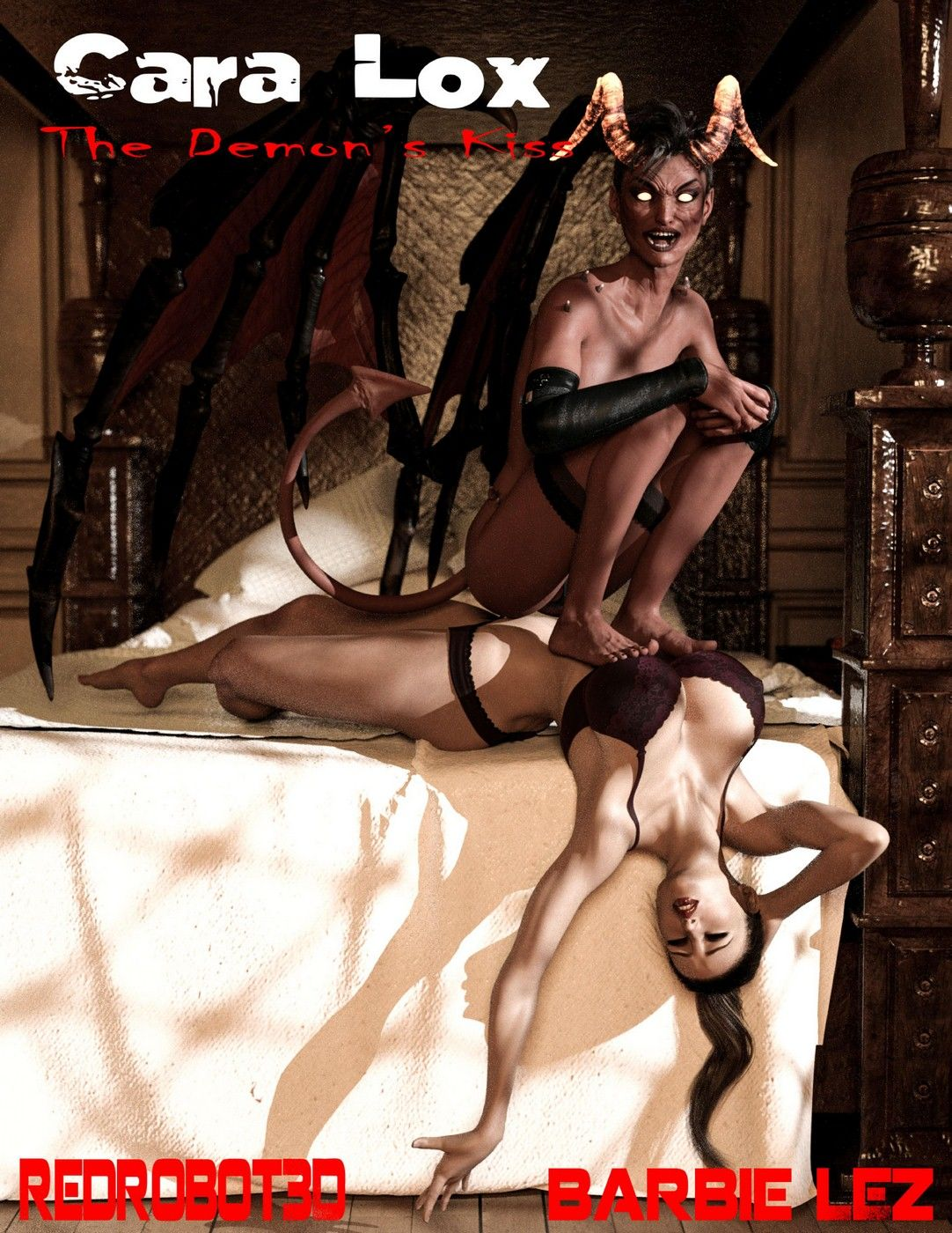 RedRobot3D- Cara Lox- The Demon's Kiss