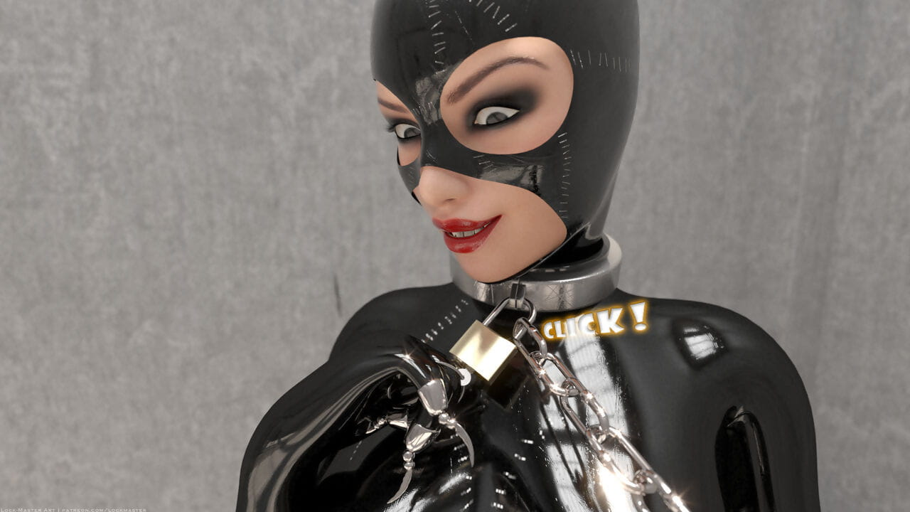 Lock-Master-Catwoman Captured 1 - part 4