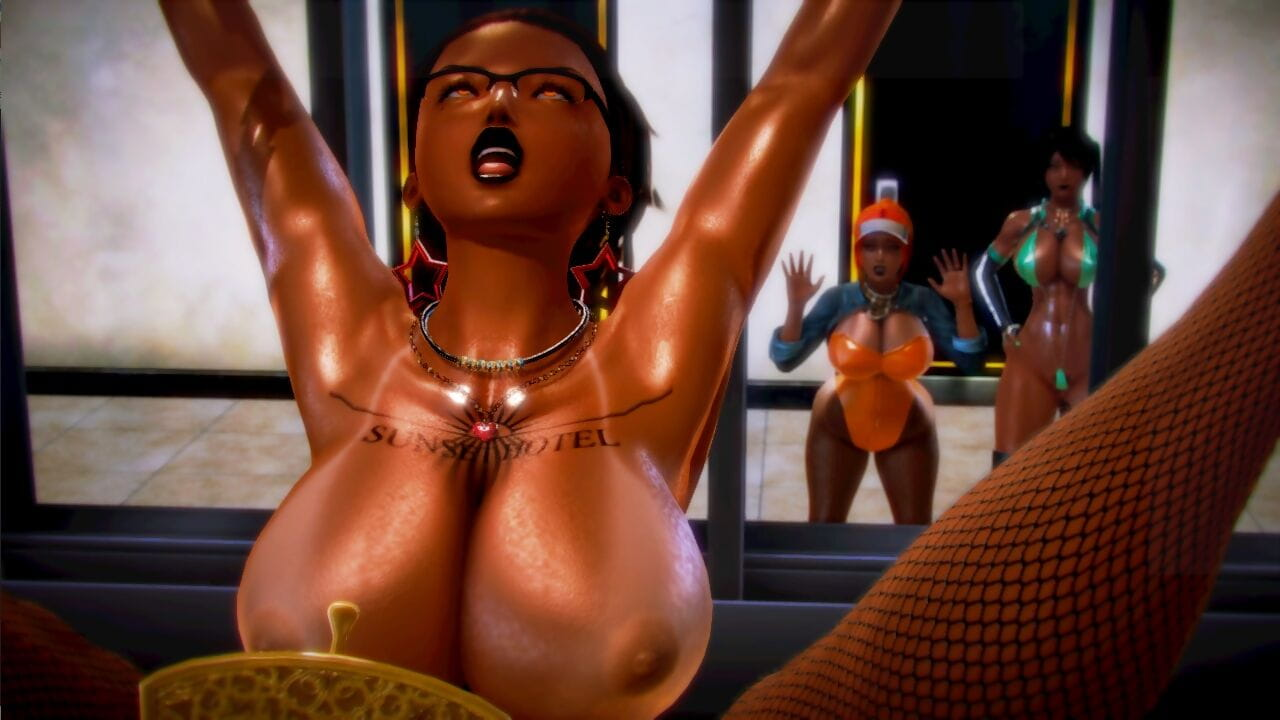 3D Slut Feud Part 1 honey select studio - part 5